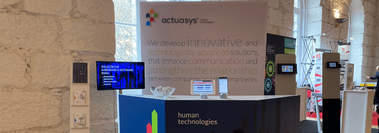 Stand Actuasys no Porto RH Meeting