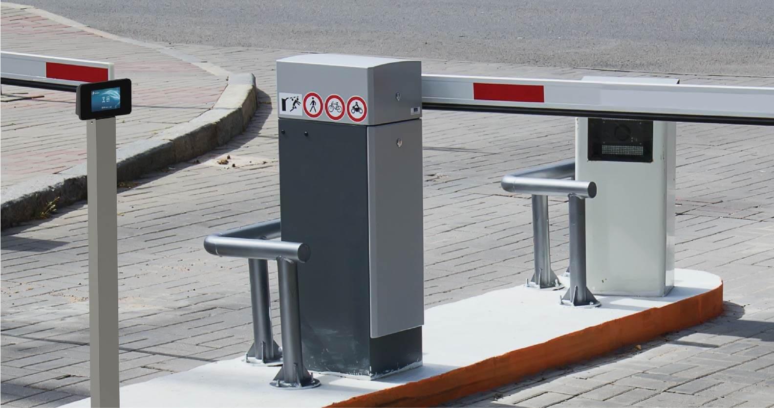 TUX510 Controlo de barreira automóvel